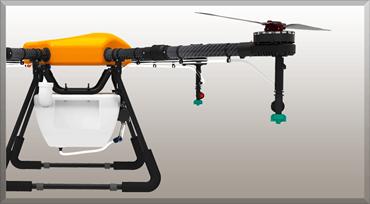 飛助DX 10L農薬散布