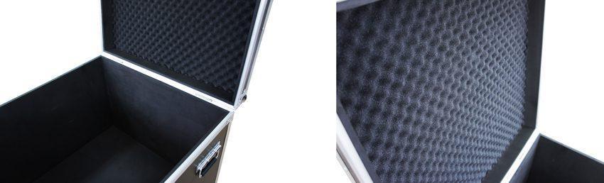 飛助DX農業用農薬散布ドローン専用アタッシュケース 内部