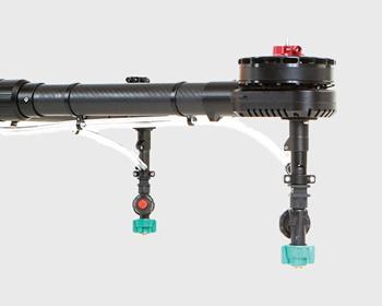 飛助MG農業用農薬散布ドローンの構成パーツ ボタ落ち防止ノズル