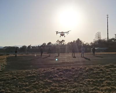 農林水産航空協会性能確認試験の様子4