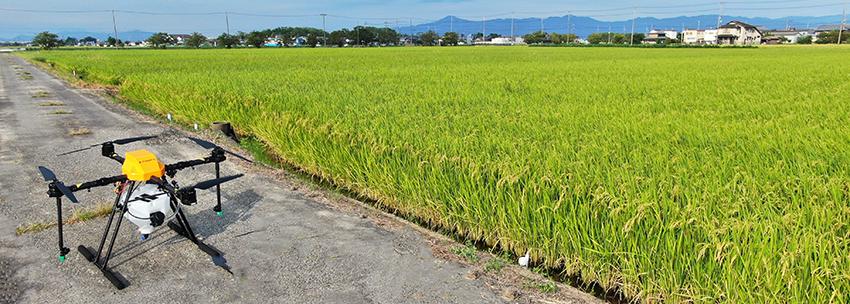 農業用農薬散布ドローンの大きさ